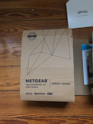 Cable modem router for Sale in Cambridge, MA