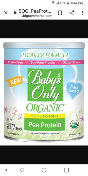 Organic baby milk for Sale in Los Angeles, CA