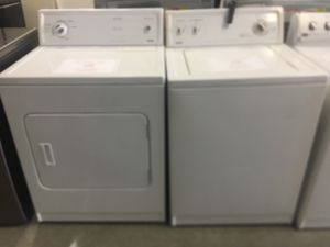KENMORE HEAVY DUTY WASHER AND ELECTRIC DRYER SET $339 $1 DOWN NO CREDIT CHECK FINANCING AVAILABLE for Sale in Maple Heights, OH