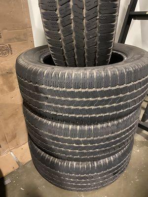 265/60r18 Goodyear Wrangler SRA tires for Sale in Bristow, VA