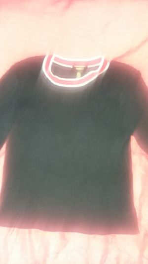 Long sleeve black forever 21 midriff sweater for Sale in Oakland, CA