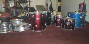 Full set professional drums with snares. for Sale in Portland, OR