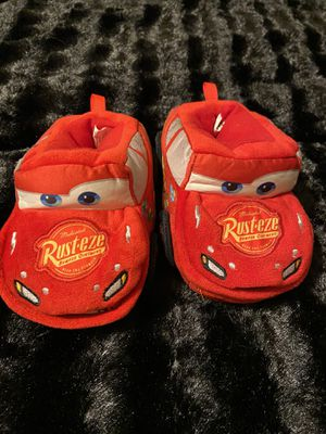 Cars slippers toddler for Sale in Fresno, CA