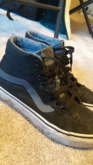 Blue and black Vans size 8 for Sale in Columbus, OH
