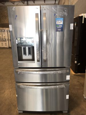 Whirlpool 25 cu. ft. French Door Refrigerator Fingerprint Resistant Stainless Steel take home with 1 year warranty $39 down EZ financing available for Sale in Miami, FL