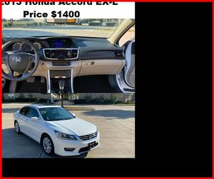 ֆ14OO_2013 Honda Accoard for Sale in Salem, OR