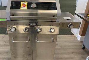 Brand New Monument Stainless Steel BBQ grill C8M K for Sale in Austin, TX