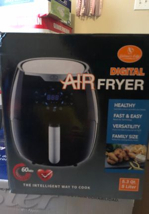 Air fryer digital 5 liter for Sale in Houston, TX