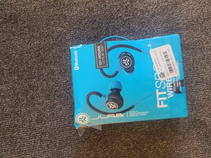 JLab 2.0 Fit Wireless Sport Earbuds - Blue (EBFIT2RBLU) for Sale in Austin, TX