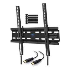 New Tilting TV Wall Mount Bracket Low Profile for Most 23-55 Inch LED, LCD, OLED, Plasma Flat Screen TVs with VESA 400x400mm Weight up to 115lbs by P for Sale in Chino Hills, CA