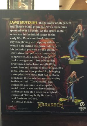 MEGADETH Rock Iconz Collector Series for Sale in Ontario, CA