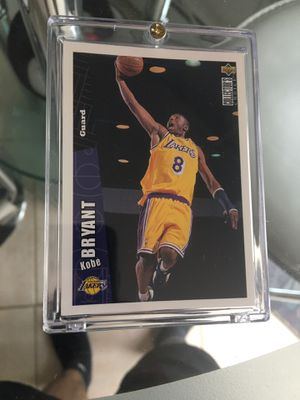 1997 original Kobe Bryant upper deck rookie card with new case great investment money $$$ for Sale in West New York, NJ
