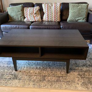 IKEA Coffee Table (Dark Brown) for Sale in Woodinville, WA
