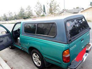 Toyota Tacoma pickup truck camper shell camper for Sale in Anaheim, CA