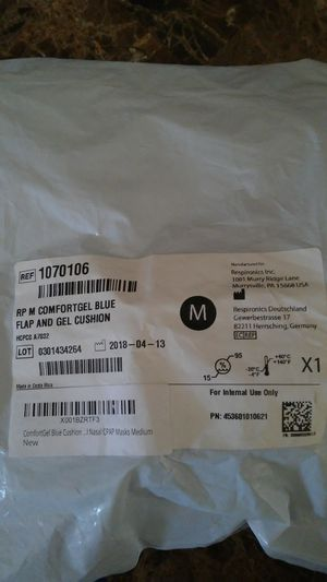 CPAP full face mask cushion for Sale in El Paso, TX