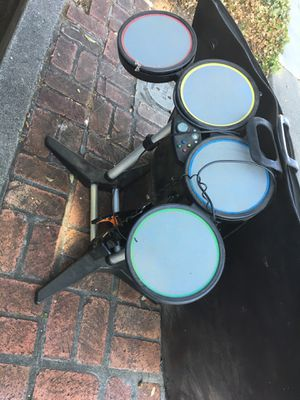 Free: Rockband Drums : Guitar for Sale in Sunnyvale, CA