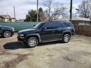 2003 Chevy Tahoe Z71 PARTS ONLY for Sale in Denver, CO