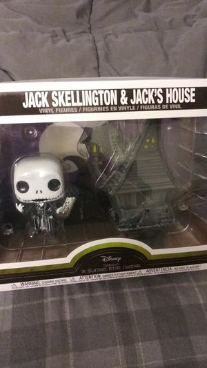 Disney Nightmare Before Christmas Funko Jack and House for Sale in Redlands, CA