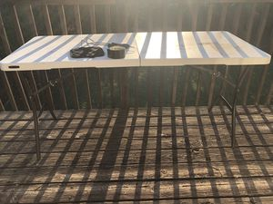 Lifetime Folding table for Sale in McDonough, GA