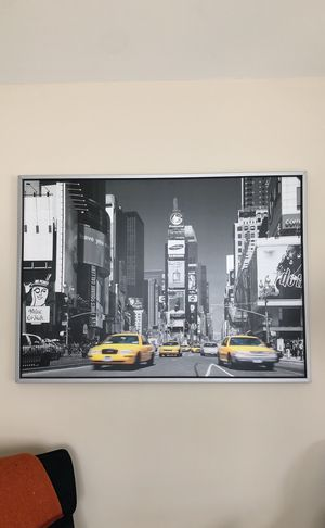 New York Poster and Frame for Sale in Miami, FL