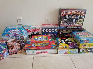 Kids Board Games & Puzzles x 15pc Set for Sale in Hialeah, FL