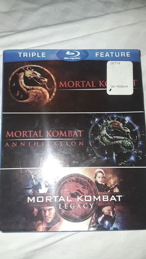 3 mortal combat movies for Sale in Chicago, IL