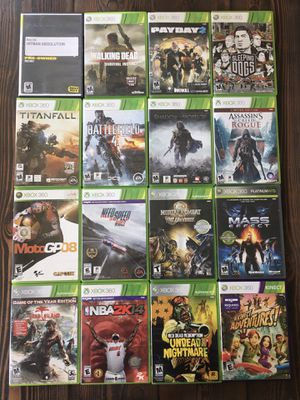 16 Xbox 360 Games Lot Bundle for Sale in Brentwood, CA