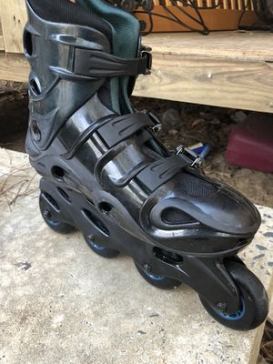 Inline skates in real good shape, I just used cup times, asking $45.00 for Sale in Chapel Hill, NC