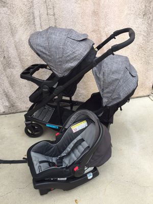 Graco uno2duo single or double stroller for Sale in Fontana, CA