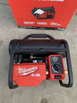 Milwaukee M18 FUEL 18-Volt Lithium-Ion Brushless Cordless 2 Gal. Electric Compact Quiet Compressor (Tool-Only) for Sale in Lynwood, CA