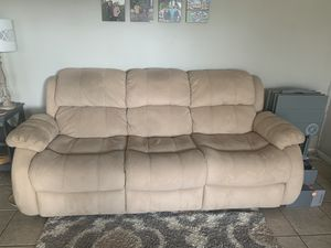 Tan couch set for Sale in San Marcos, CA