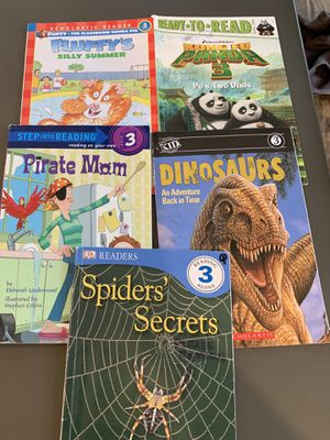 Level 3 Books I Can Read Step Into Reading for Sale in San Antonio, TX