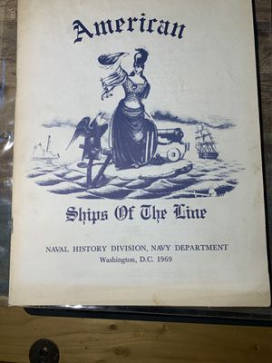 American Ships of The Line Booklet for Sale in Orange, CA