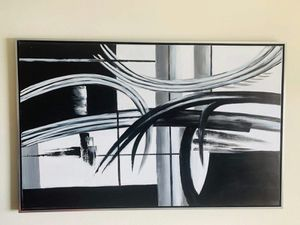 ART ABSTRACT PAINTING EXCELLENT CONDITION for Sale in Hollywood, FL