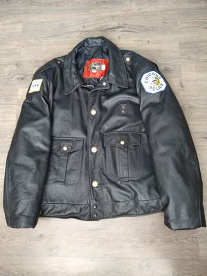 Custom Real Leather, Jacket, Motorcycle, Harley, Like New! for Sale in Sun City, AZ
