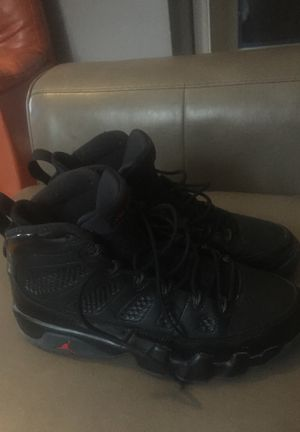 "Black Jordan 9""s 10.5 trade or buy for Sale in Maywood, IL"