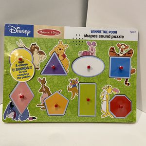 Winnie The Pooh Shapes And Sounds Puzzle for Sale in Laurel, MD