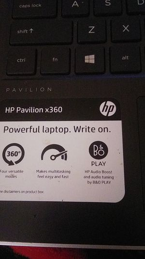 """HP Pavillion x360 11"""" 2-in-1 Laptop / Tablet 4gb Ram 500gb HDD for Sale in Oceanside, CA"""
