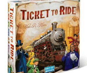 A Ticket To Ride Board Game for Sale in Pompano Beach,  FL
