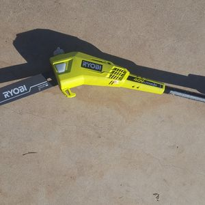 Ryobi 40 Volt 9.5 Foot Pole Saw (**Tool Only As Seen**) for Sale in Phoenix, AZ