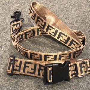 FF Designer Dog Leash & Collar Set. Harness sold separately. for Sale in Garden Grove, CA