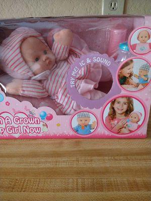Little girl doll. for Sale in Irving, TX