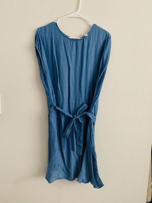 Light Blue Jean knee length dress. (Size XL) for Sale in St. George, UT