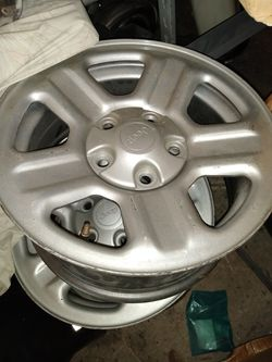 Jeep aluminum wheels for Sale in Lake Worth,  FL