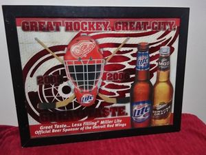 28x36 Red Wings Mirror! Stunning! for Sale in US
