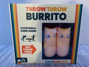 Throw Throw Burrito Board Game for Sale in McKinney, TX