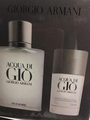 Acqua Di Gio gift set 2pcs by Armani For Men for Sale in Austin, TX