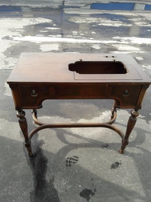 Antique sewing table. Has solid top (not pictured yet) for Sale in Salt Lake City, UT