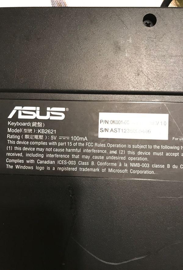 Asus Gaming Computer Keyboard ⌨️