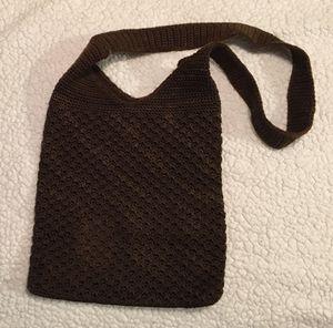 The SAK Brown Knit Shoulder Purse Bag for Sale in Murrieta, CA